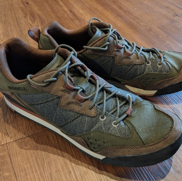 ede0365bc8159 Merrell Burnt Rock Tennis Shoes. M_5af32f1e5521befccd86a298